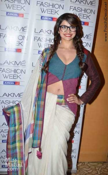 Prachi Desai at Lakme Fashion Week
