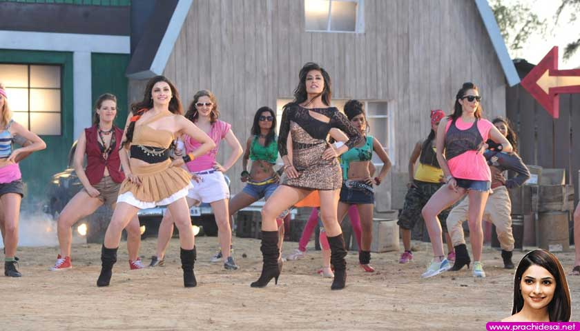 Chitrangda Singh and Prachi Desai dance