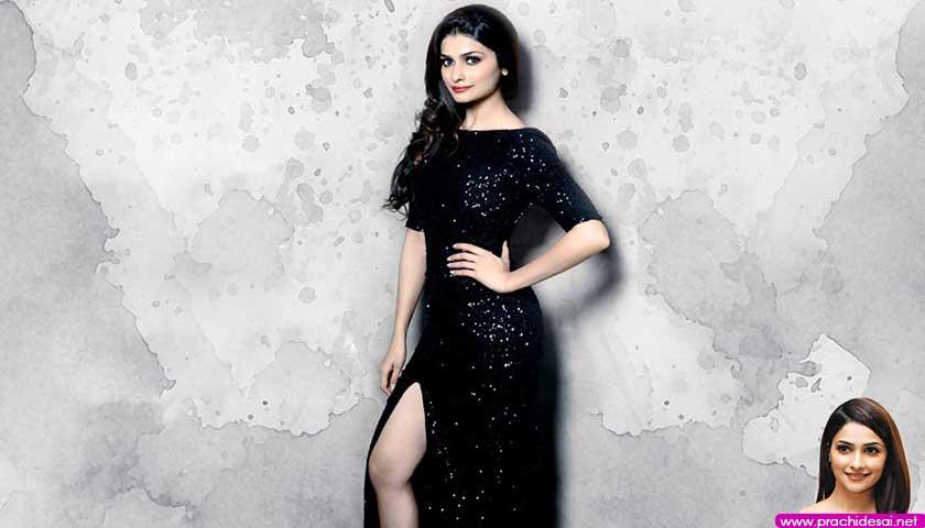 Prachi Desai in sexy black
