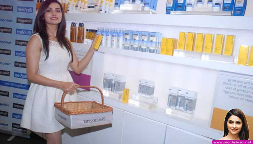 Prachi Desai Launches Neutrogena